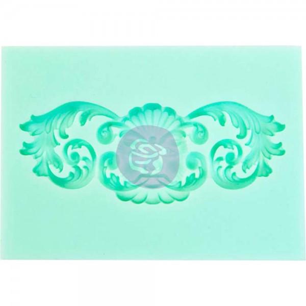 """Iron Orchid Designs Vintage Art Decor Mould 2.5/""""x3.5/""""-fleur"""