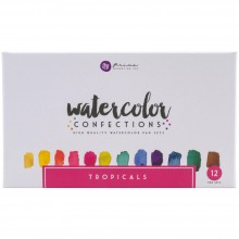 Tropicals Prima Watercolor Confections Watercolor Pans 12/Pkg