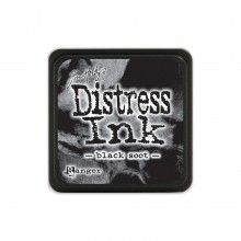 Black Soot Tim Holtz Distress Mini Ink Pad
