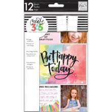 Happy Planner Mini Planner Pocket Sheets 2 Designs/6 Each