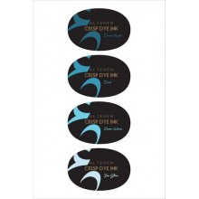 Full Size Inkpad Cool Summer Night Crisp Dye Oval Set of 4 By Altenew