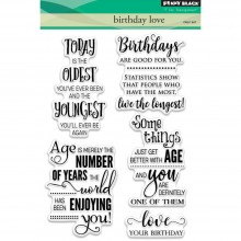 Penny Black Clear Stamps Birthday Love