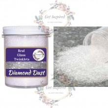 Real Glass Twinklets Diamond Dust 60gR (2.1oz Jar) By Get Inspired