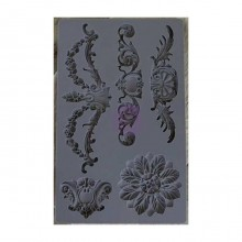 Baroque #3 Iron Orchid Designs Vintage Art Decor Mould