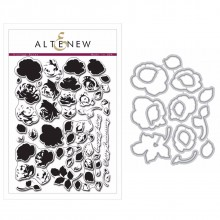 Altenew Vintage Roses Stamp & Die Bundle
