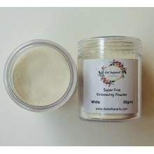 White Super Fine Embossing Powder By Get Inspired 30gms