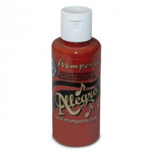 Acrylic Paint Allegro paint 59ml Mattone By Stamperia