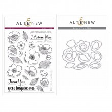 Altenew Adore You Stamp & Die Bundle - 42 pieces