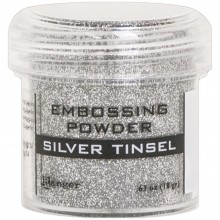 Silver Tinsel Ranger Embossing Powder