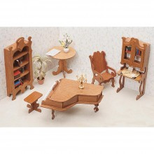 Library Miniature Furniture Kit