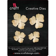 Icraft Flower Making Creative Dies Set Of Four