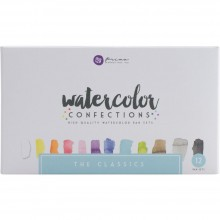 The Classics Prima Watercolor Confections Watercolor Pans 12/Pkg