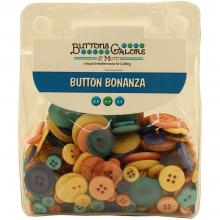 Buttons Galore Button Bonanza -  GLAM GIRL Jumbo Pack