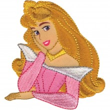 Iron-On Applique Aurora Disney Princess