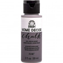 FolkArt Home Decor Chalk Acrylic Paint, 2oz English Lavender