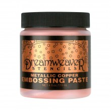 Embossing Paste Copper Dreamweaver