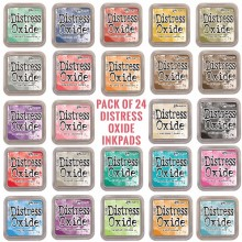 Distress Oxide InkPads Set of 24 By Tim Holtz