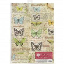 Butterfly Stamperia Rice Paper Pack A4