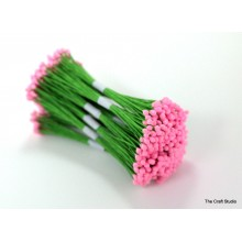 Baby Pink-Wire Pollen-3mm Head Pack 10 Bunches