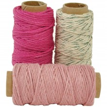 Candy Lucky Dip Mixed Hemp Cord 1.0mmX21m 3/Pkg