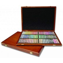 Mungyo gallery soft pastel wood box set of 72 - assorted colors