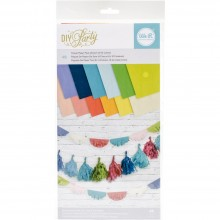 "Tissue Paper Pack We R DIY Party 6""X12"" 48/pkg"