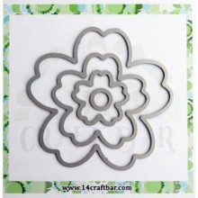 Flowers Set 3 +circle -Cutting Dies  D8