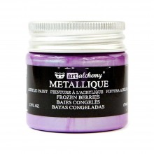 Metallique Frozen Berries Finnabair Art Alchemy Acrylic Paint 1.7 Fluid Ounces