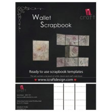 Wallet Scrapbook Template By Icraft