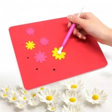 5 Hole Foam Embossing Pad By Get Inspired - 9inch x 7inch