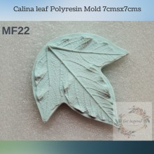 Calina leaf Polyresin Mold 7cmsx7cms MF22