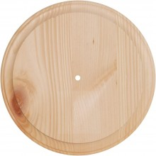 "Pine Wood Clock Face 11"" Round"