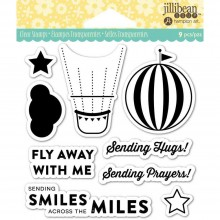 "Fly Away Jillibean Soup Clear Stamps 4""X4"""