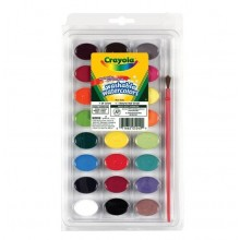 Watercolors - 24 colors Crayola Washable