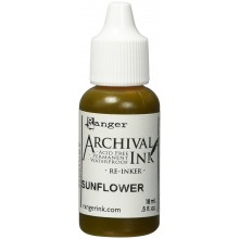 Sunflower Archival Re-Inkers, 0.5-Ounce
