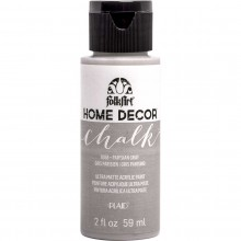FolkArt Home Decor Chalk Acrylic Paint, 2oz Parisian Gray