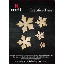 Icraft Flower Making Creative Dies Set Of Five M8