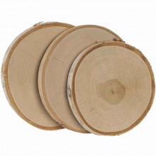 "6.5"" To 10"" Baltic Birch Round 3/Pkg"