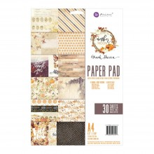 Double-Sided Paper Pad A4 30/Pkg By Amber Moon Prima Marketing