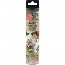 Floral Tim Holtz Idea-Ology Collage Paper 6yds