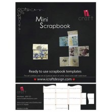 Mini Scrapbook Template By Icraft