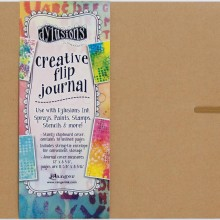 "Dyan Reaveley's Dylusions Creative Flip Journal Kraft 12""X8.5"""