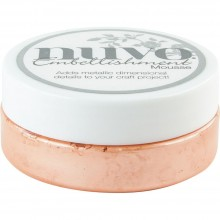 Coral Calypso Nuvo Embellishment Mousse