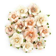 "Flowers Heaven Sent 2 Olivia 1.25"" To 1.75"", 12/Pkg By Prima"