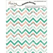 Zigzag Rice Paper A4 By Get Inspired