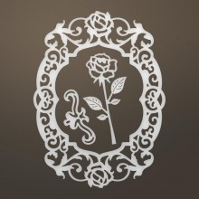 "Dies Flourished Roses 2.8""X3.8"" Ultimate Crafts Ooh La La"