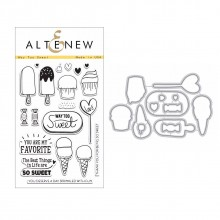 Altenew Way Too Sweet Stamp & Die Bundle