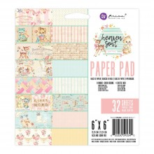 "Paper Pad 6""X6"" 32/Pkg By Heaven Sent 2 Prima Marketing Double-Sided"