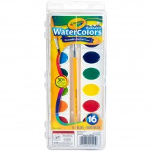 Watercolors Washable  - 16 colors Crayola
