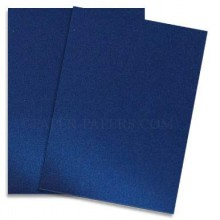 "Midnight Blue Pearlescent Cardstock 9""x12"" Pack of 8 Sheets 250GSM By Get Inspired"